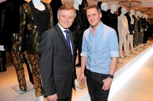 Mariusz Przybylski na FashionWeek Berlin