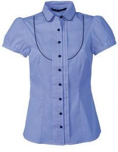 Niebieska koszula Top Secret