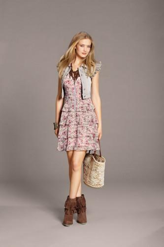 Wiosenna stylizacja Orsay
