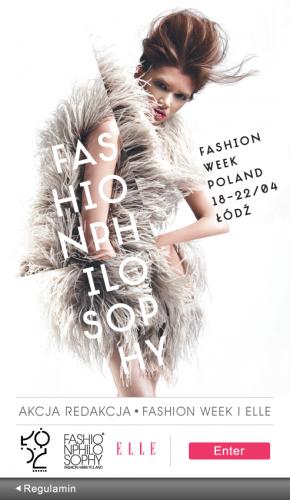 Akcja Redakcja Magazynu ELLE i Fashion Week Poland