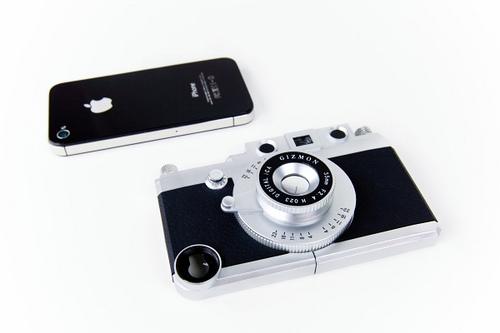 Aparat - obudowa na iPhone'a