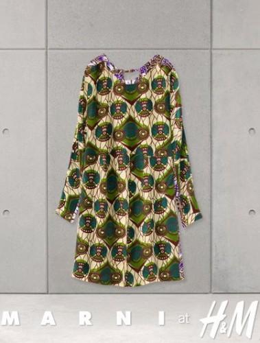 Sukienka Marni dla H&M