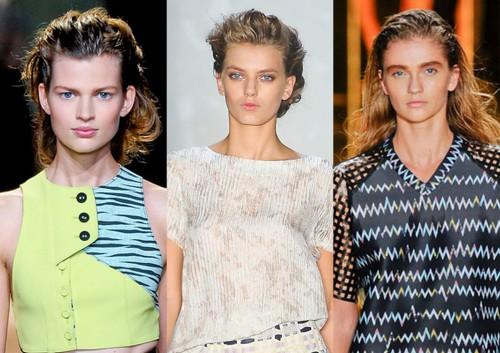 Fryzury Trendy Lato 2012