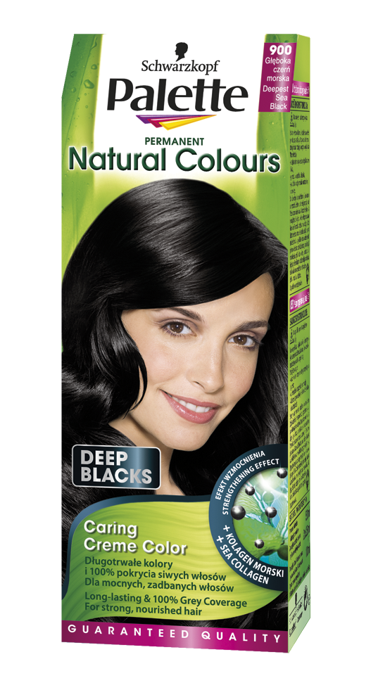 Palette Natural Colors Deep Blacks