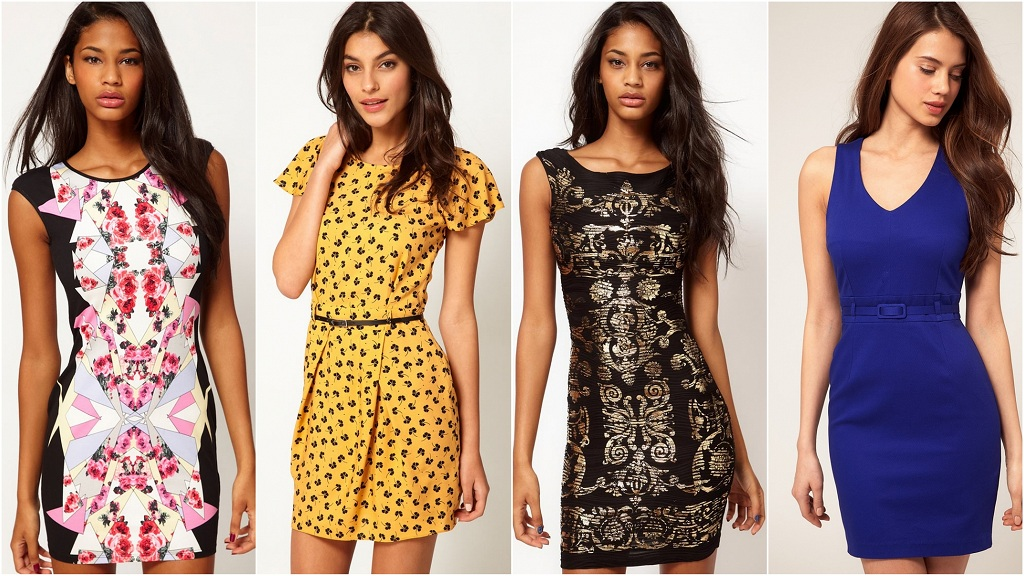 Sukienki - trendy jesień/zima 2012/2013