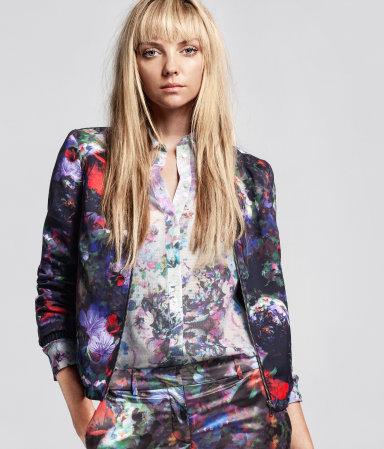 Kolorowe desenie w H&M