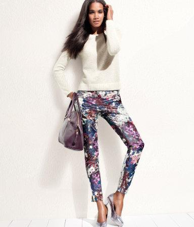 Kolorowe desenie H&M
