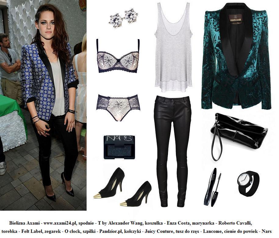 Karnawałowe kreacje gwiazd - Kristen Stewart