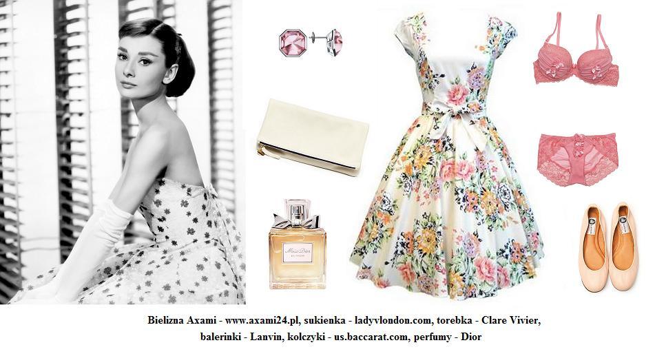 Stylizacja inspirowana Audrey Hepburn