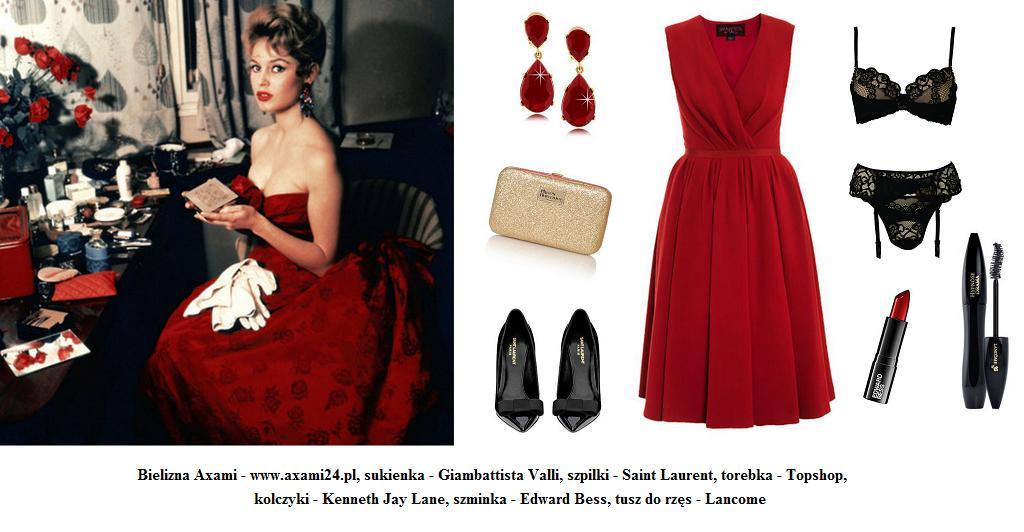 Stylizacja inspirowana Brigitte Bardot
