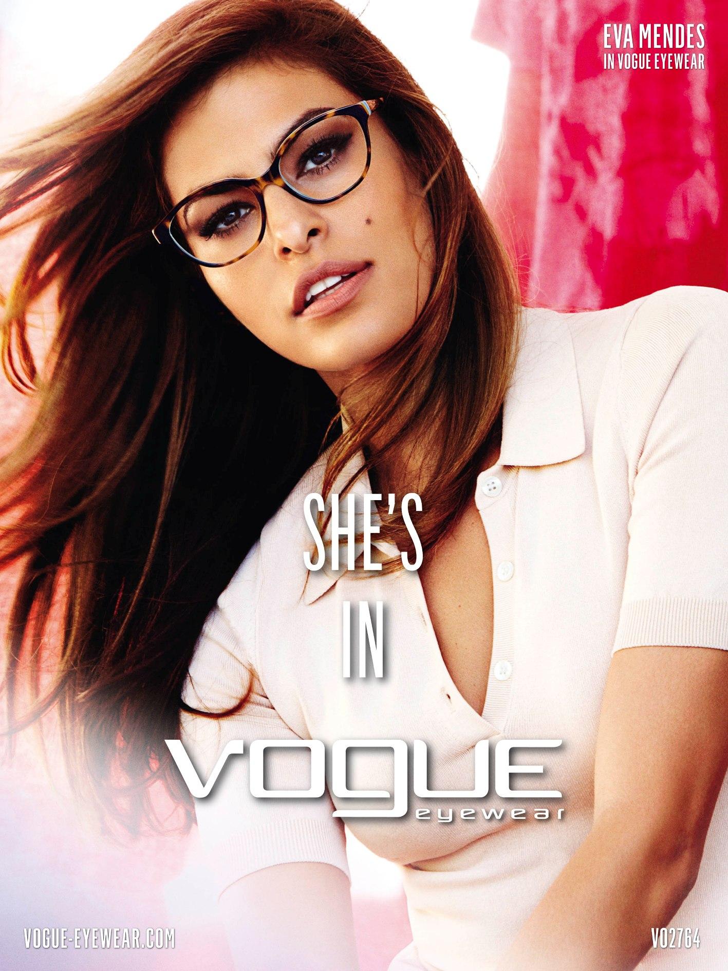 Eva Mendes twarzą Vogue Eyewear