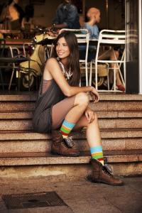 kolorowe skarpetki happy socks