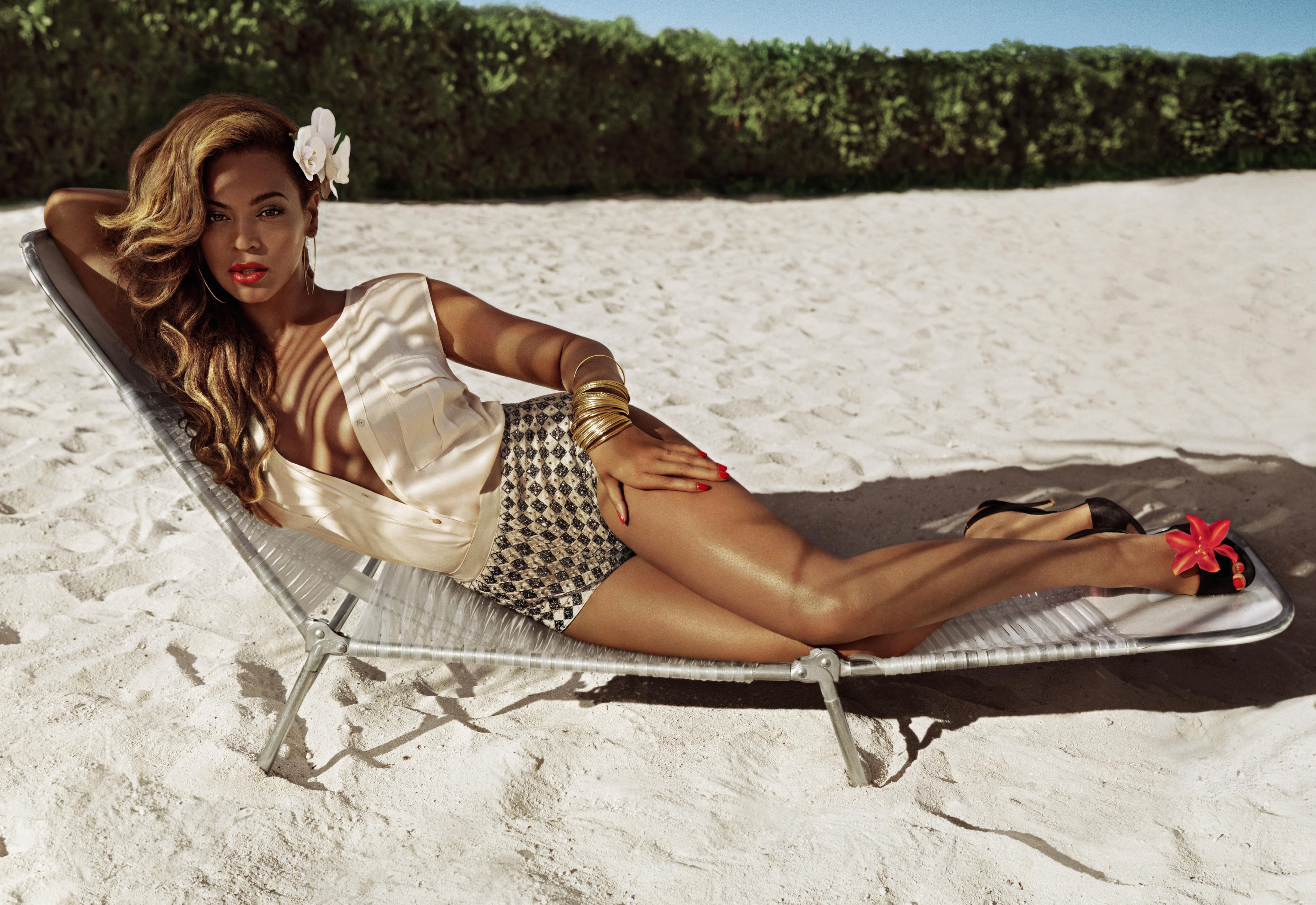 Beyonce w wiosennej kampanii H&M