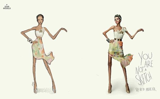 akcja przeciwko anoreksji