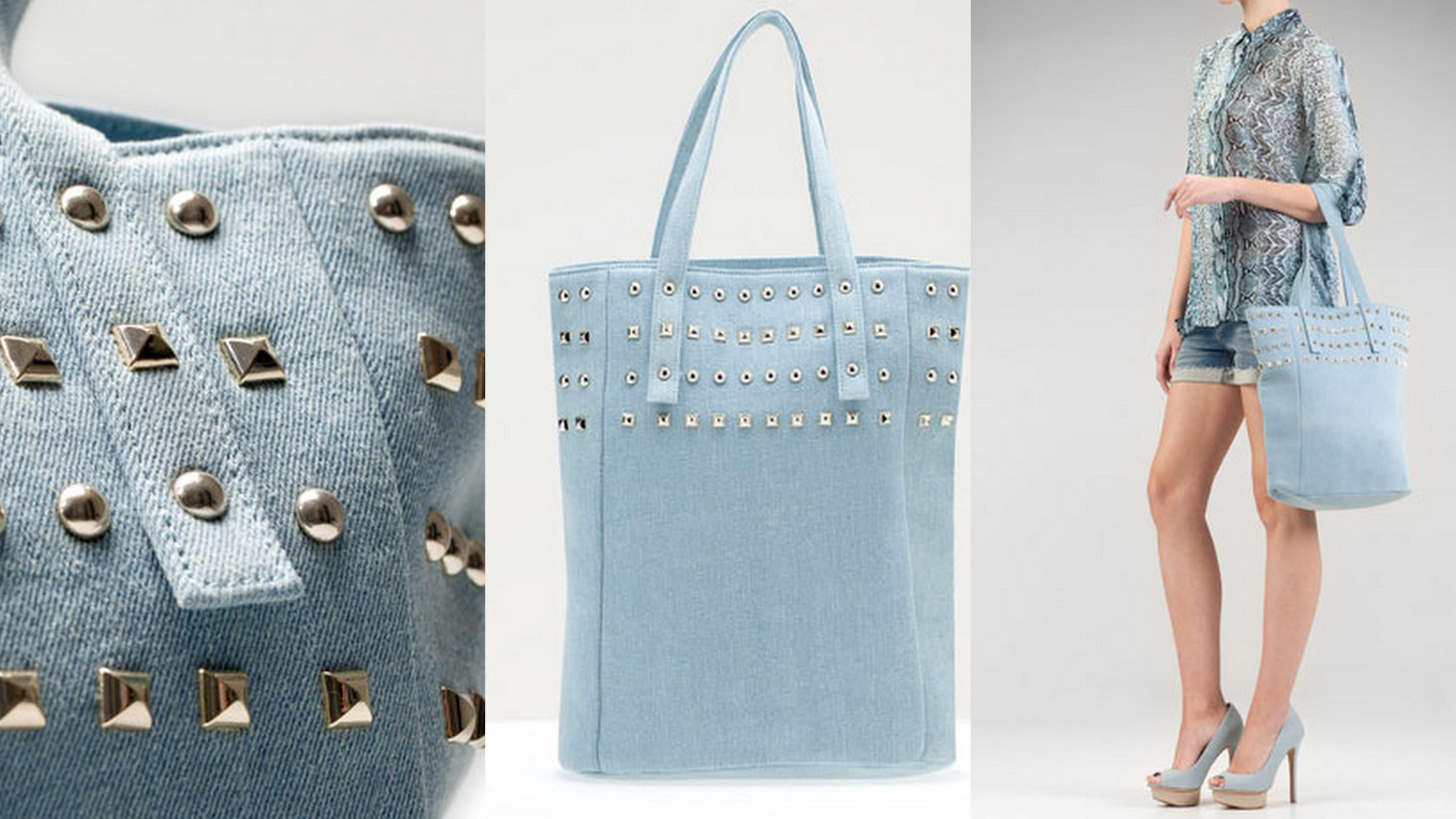 a139f17c1d81b Jeansowa torebka - Moda - najnowsze kolekcje, najtańsze sklepy