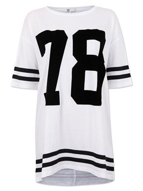 bluzka z numerem