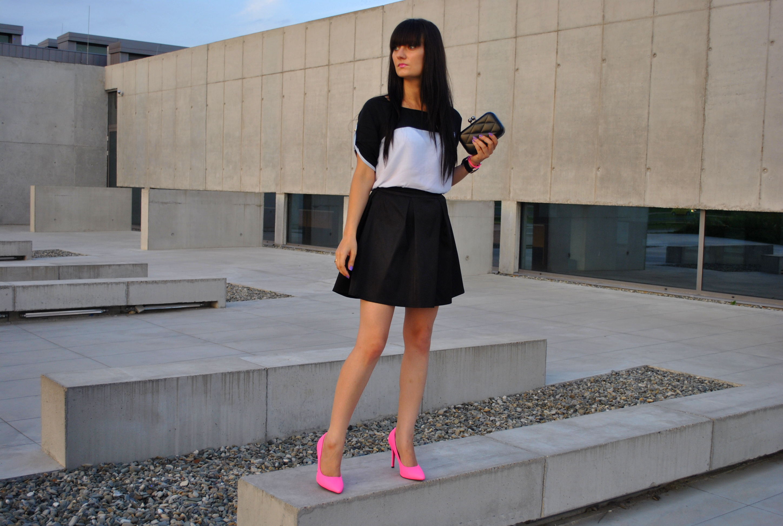 Stylizacja blogerki Mała Czarna