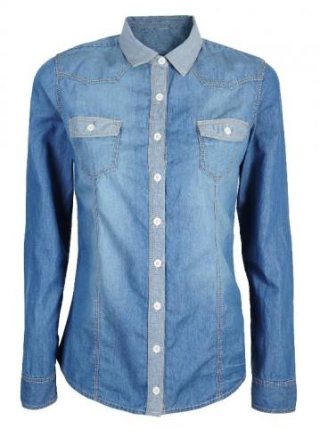 jeansowa koszula_129,90 zl_Camaieu