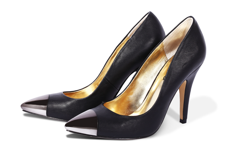 Buty z metalowym noskiem