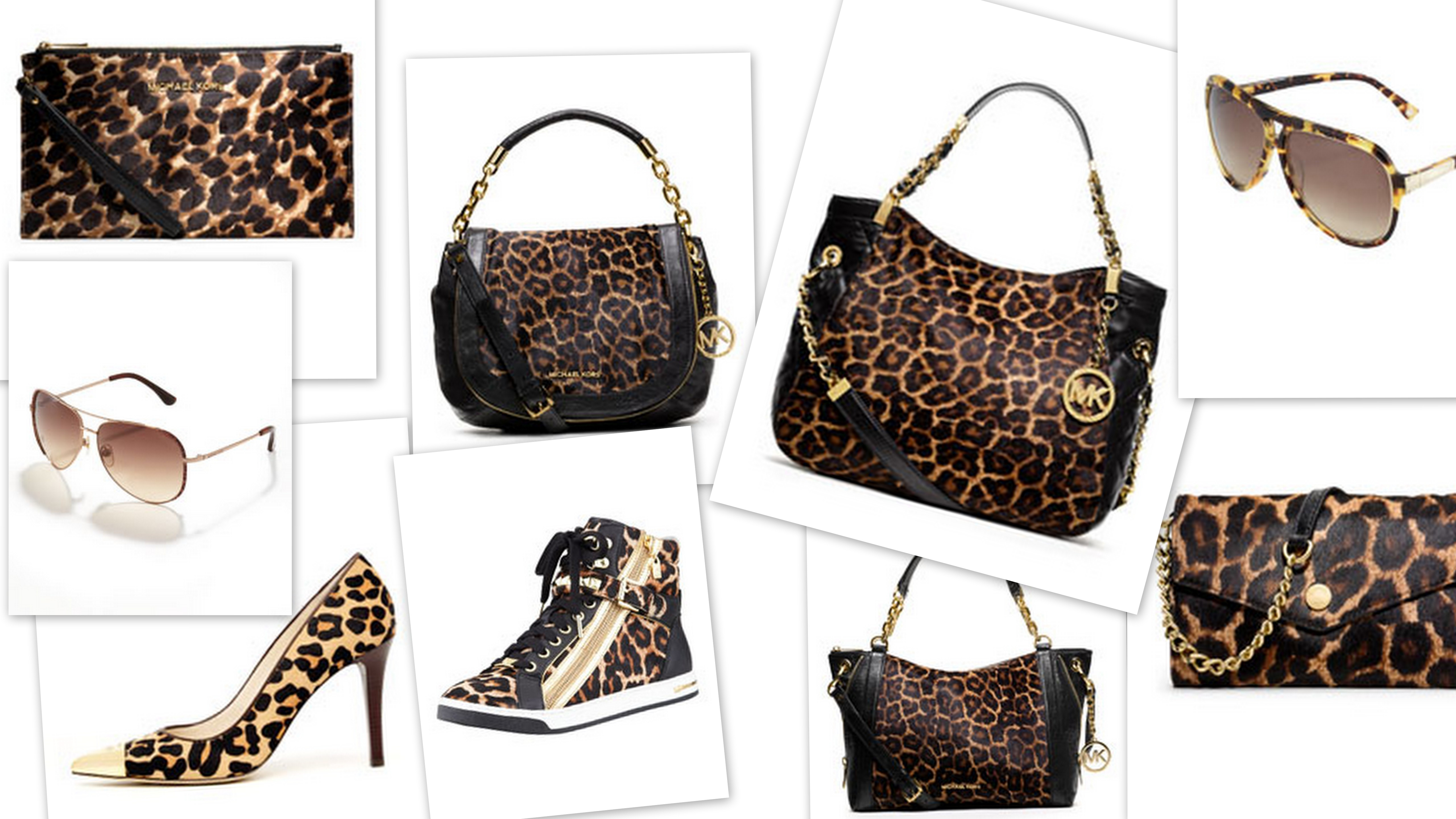 michael kors animal accents