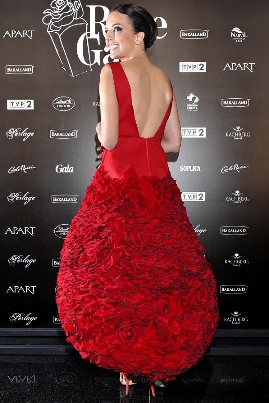 Anna Wendzikowska na Różach Gali