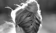Upside-Down-French-Braid-Bun-Hairstyle