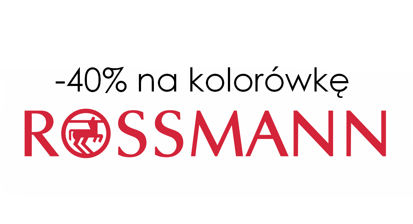 rossmann - 40% na kolorówkę