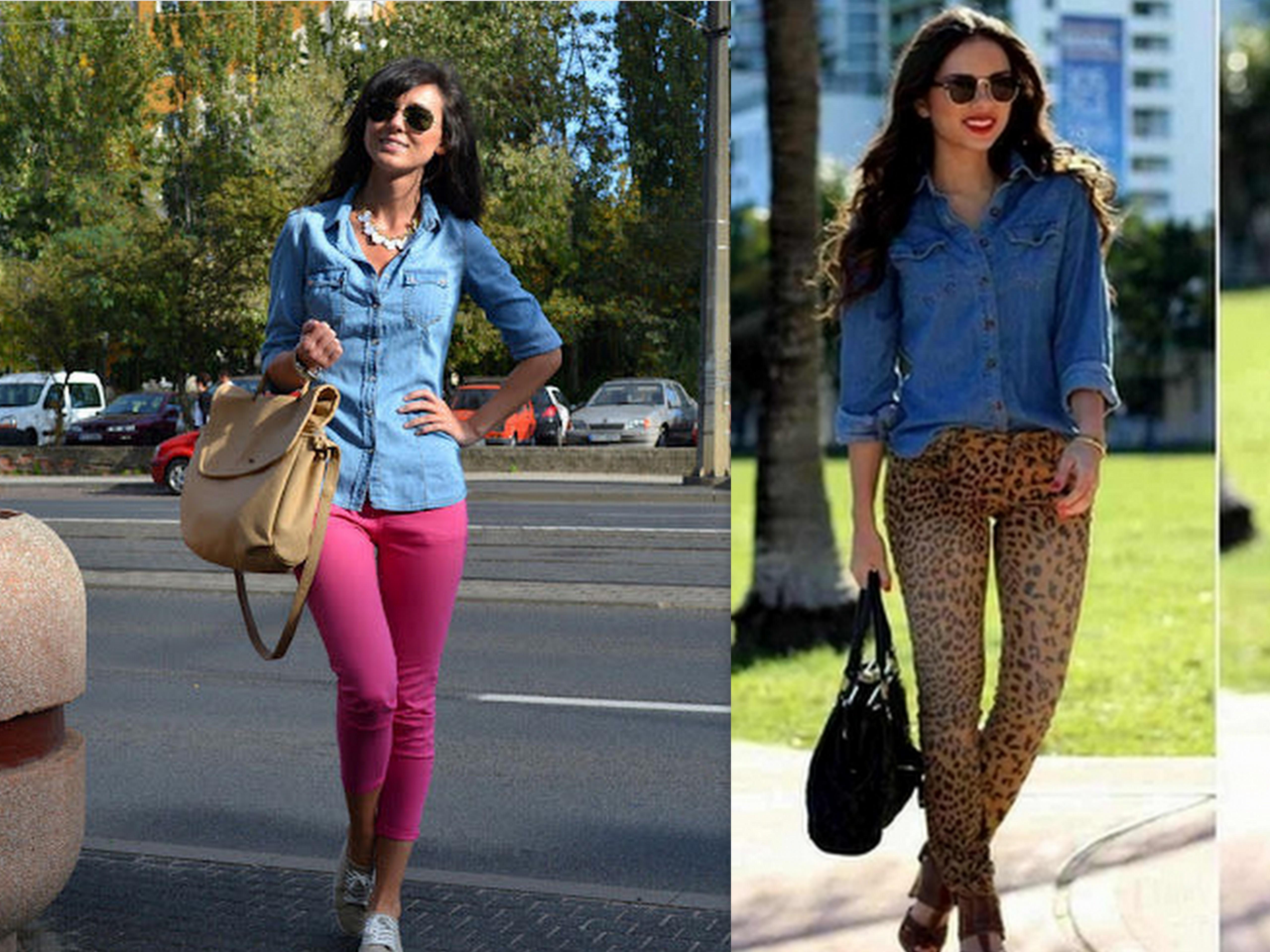 Z czym nosić jeansową koszulę?