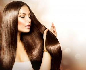 Włosy idealnie proste