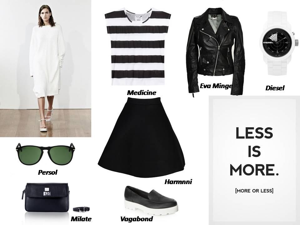 stylizacje black & white