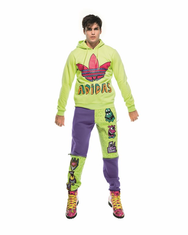 6. adidas Originals by Jeremy Scott_look