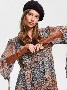 Nowa kolekcja Reserved anlimal prints ubrania w cętki, ubrania w panterkę