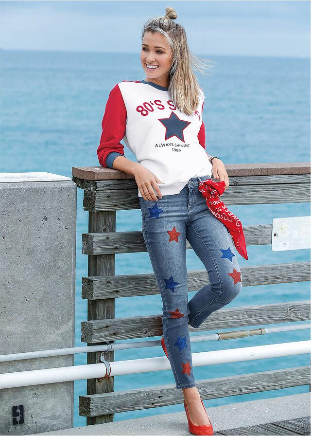 jeansy denim bon prix wiosna 2019